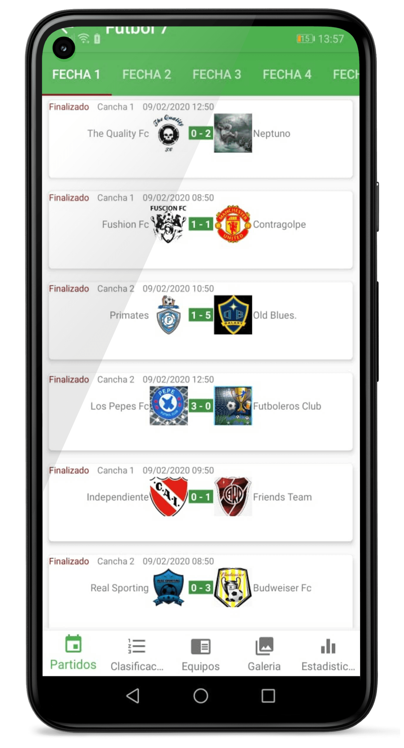 Torneos Bogota